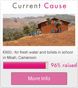 Current Charity Cause we are saving for