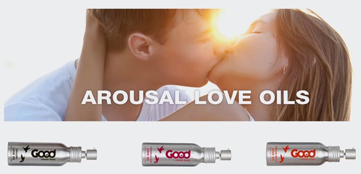 Good Clean Love lubricant and love oils