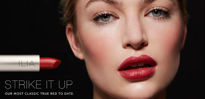 Ilia beauty strike it up lipstick