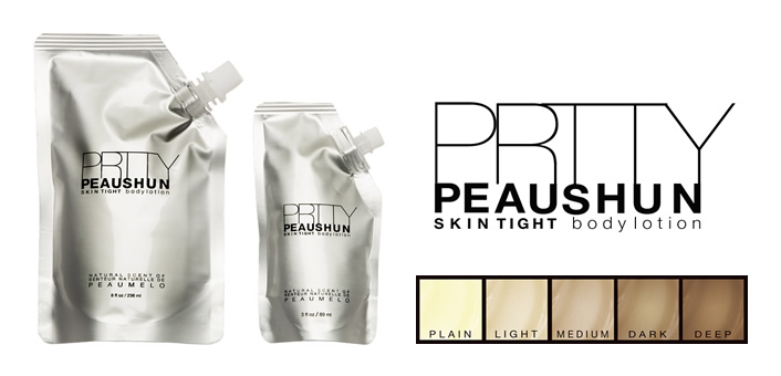 PRTTY Peaushun 5 shades 2 sizes