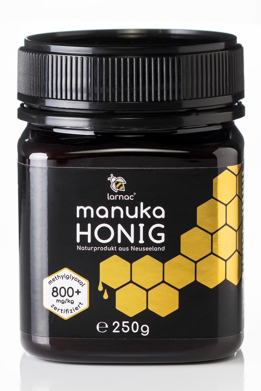 Raw, Organic Manuka Honey - 800+