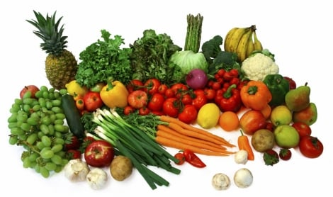 Skin - health - beauty - food- vegetables