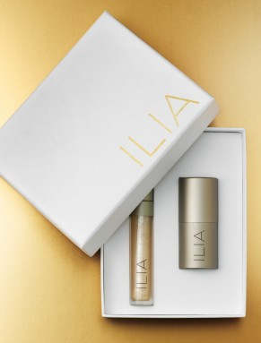 Xmas Raffle: ILIA Beauty Goldbox + lipstick!