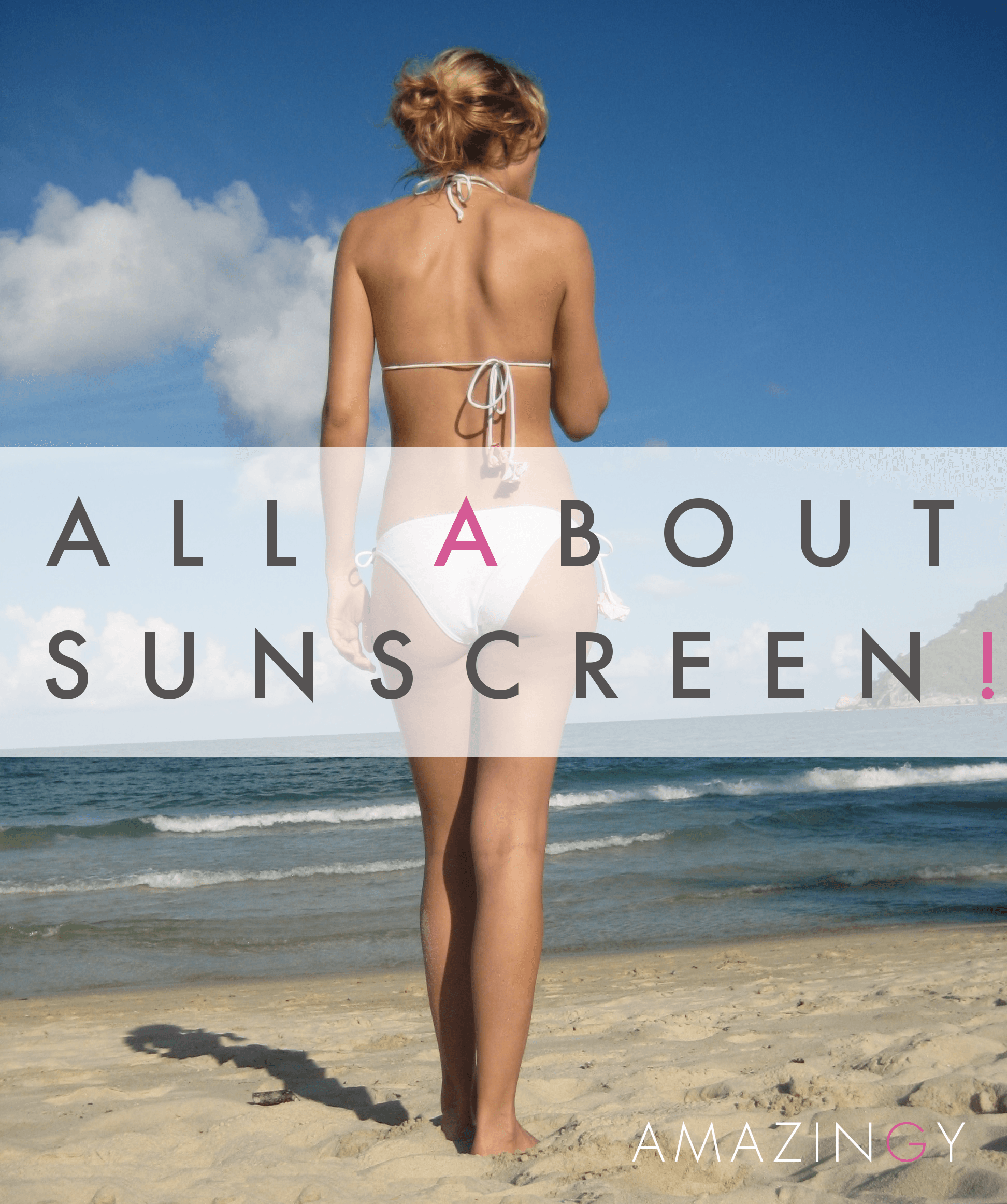 Use Sunscreen!
