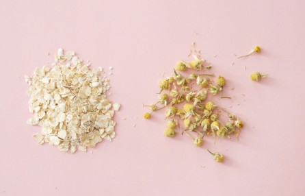 DIY Face Peel: Chamomile and Oats