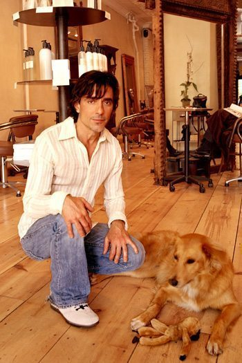 John Masters with dogs