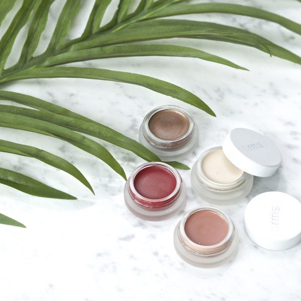 New RMS products: bronzer, lipshine, concealer and cheekcolor