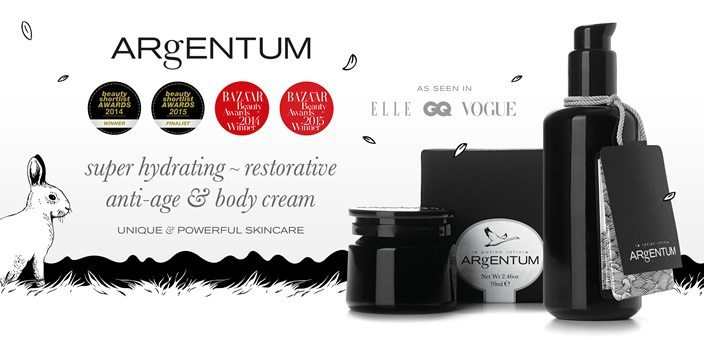 Argentum - Natural Skin Care with Silver Slider