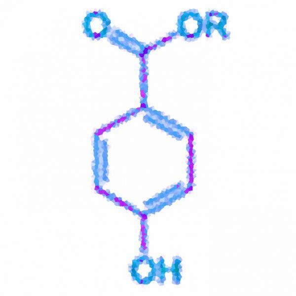 paraben-chemical-structure
