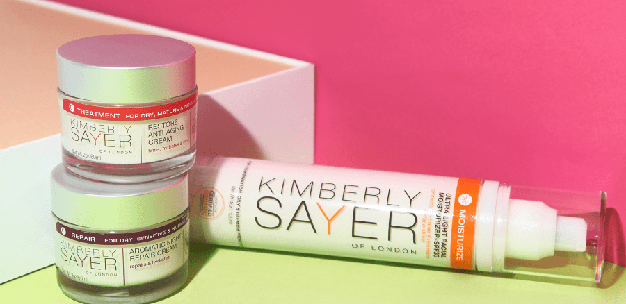 Kimberly Sayer Natural Organic Skin Care with SPF